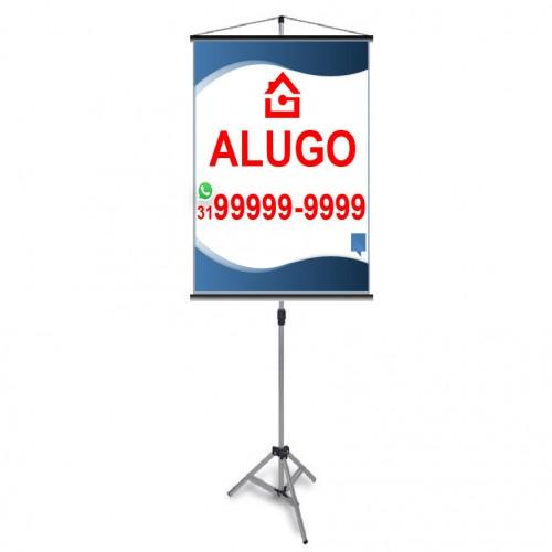 BANNER ALUGO 80X120 CM