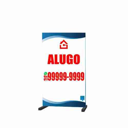 CAVALETE ALUGO 70X120 CM