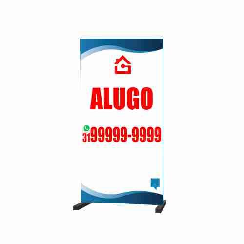 CAVALETE ALUGO 50X100 CM