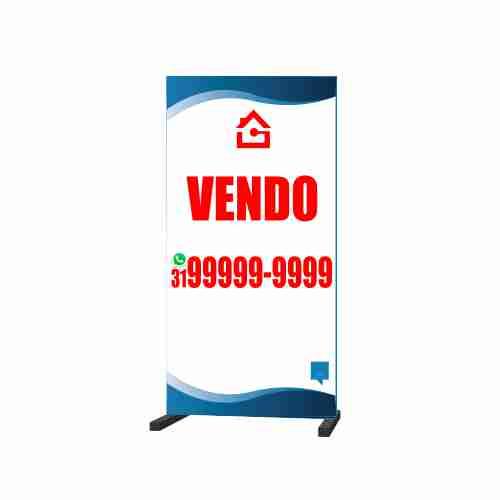 CAVALETE VENDO 50X100 CM