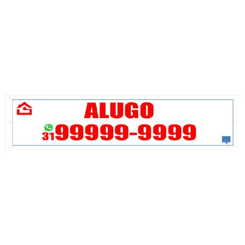 FAIXA ALUGO 300X70 CM