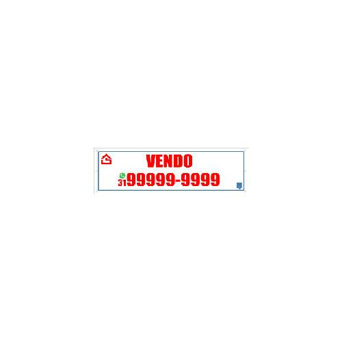 FAIXA VENDO 100X30 CM