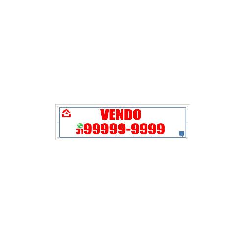FAIXA VENDO 150X40 CM
