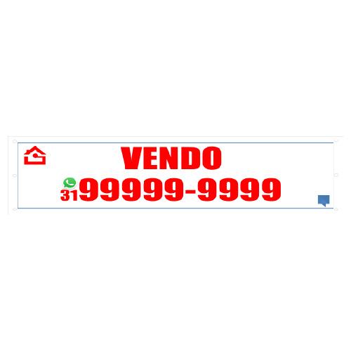 FAIXA VENDO 300X70 CM