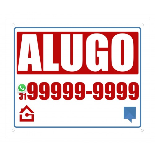 PLACA PS 1 MM ALUGO 60X50 CM